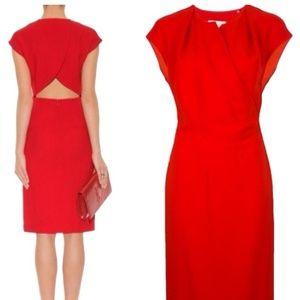 NWT Stella McCartney Red Cut out Dress Size 40